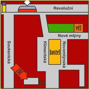 Mapa k nám :)